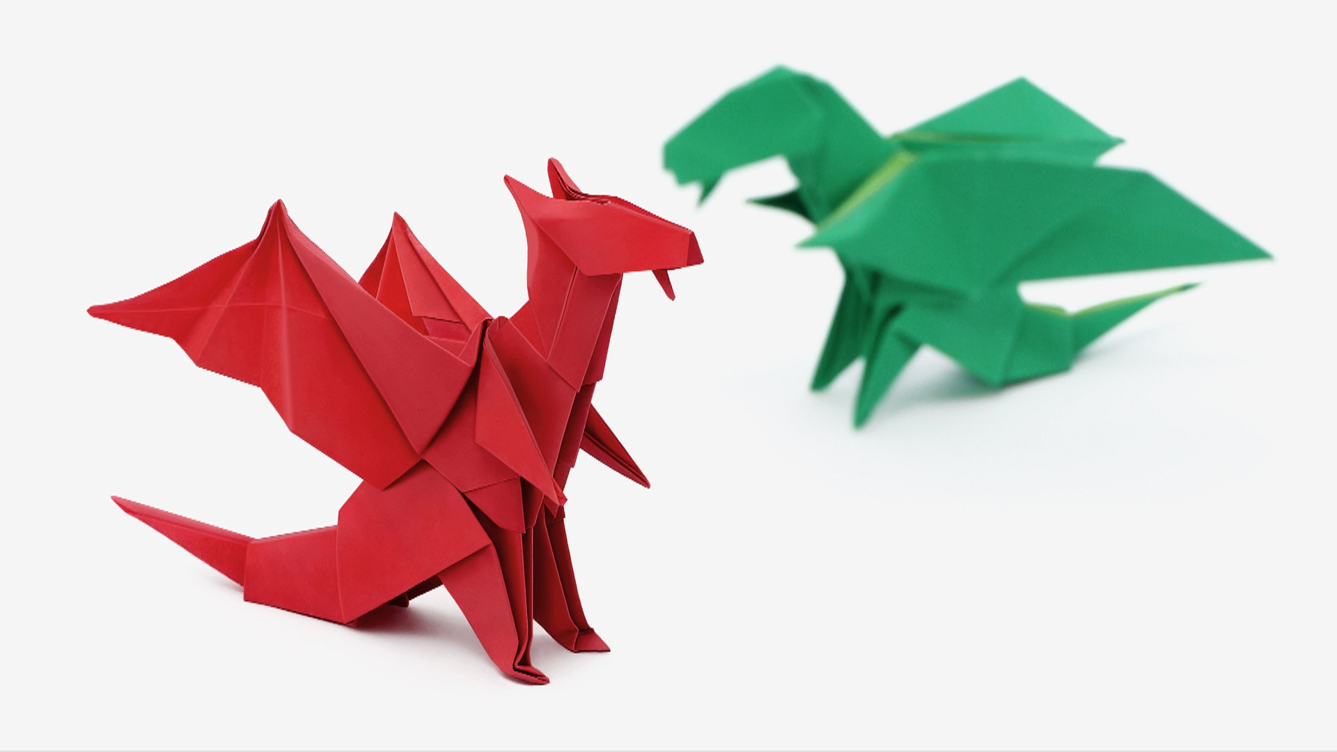 Origami Dragons Video And Diagrams