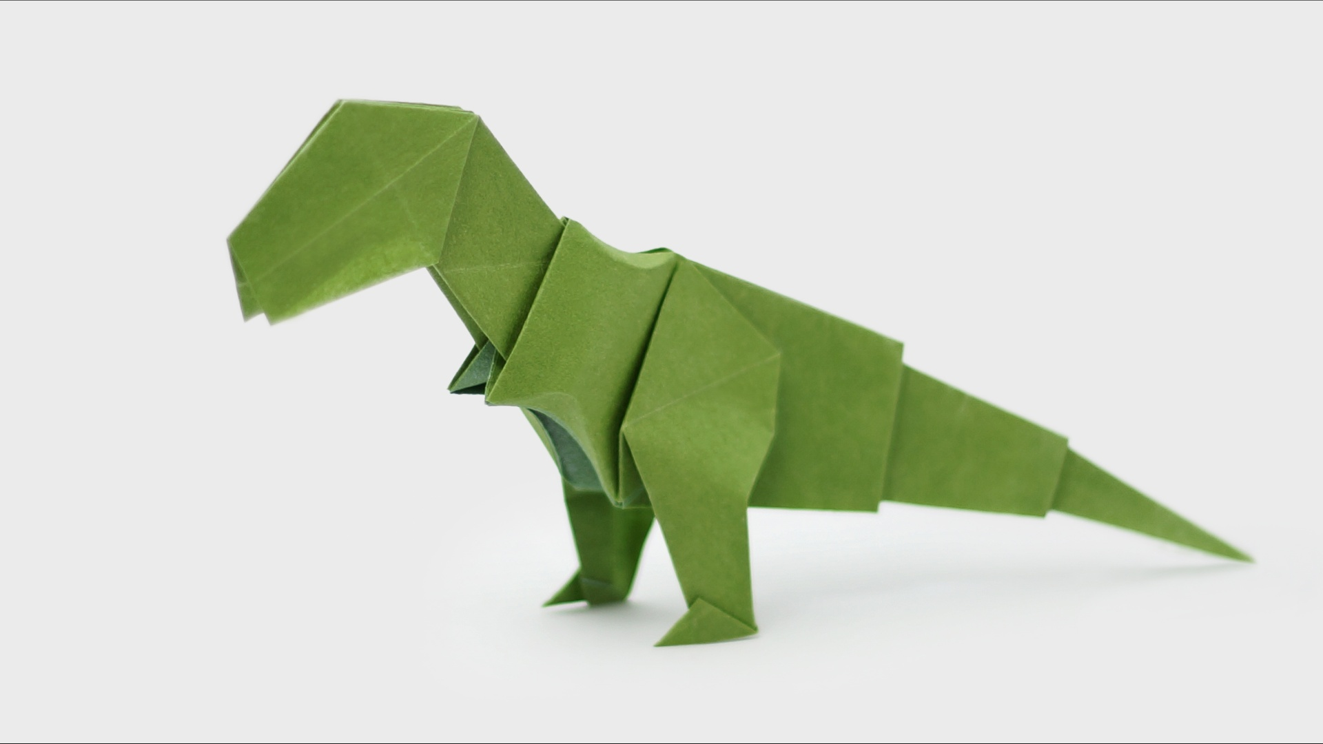 Origami T Rex Video And Diagrams