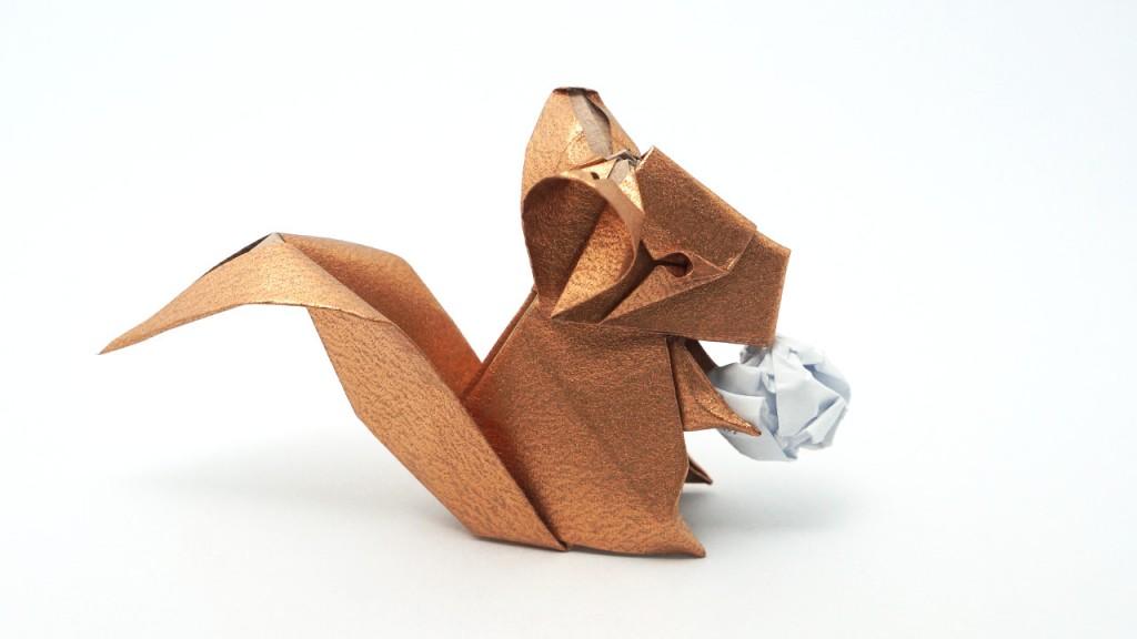 Origami Chinchilla Designed by Jo Nakashima