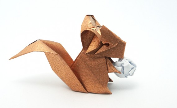 Origami Chinchilla Designed by Jo Nakashima