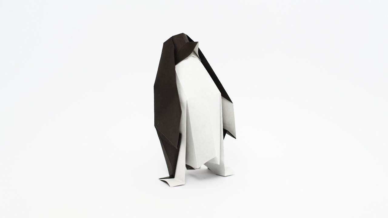 Origami Penguin Diagrams And Video