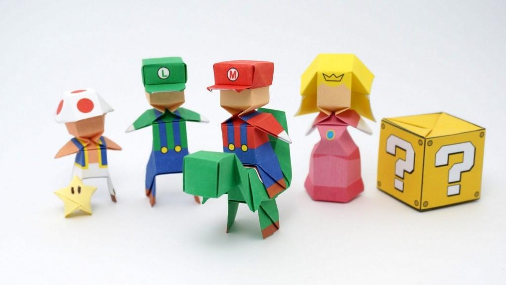 Origami Mario