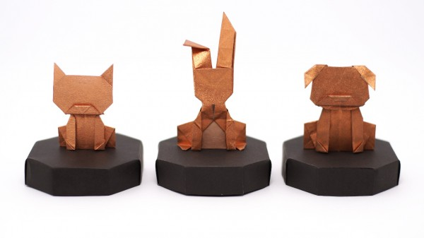 Money Cat, Bunny and Dog by Jo Nakashima