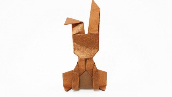 Origami Money Bunny by Jo Nakashima