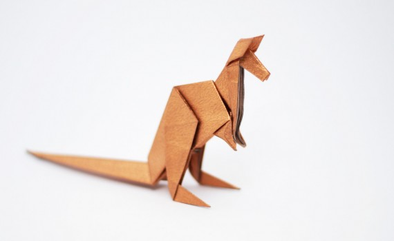 Origami Kangaroo by Jo Nakashima