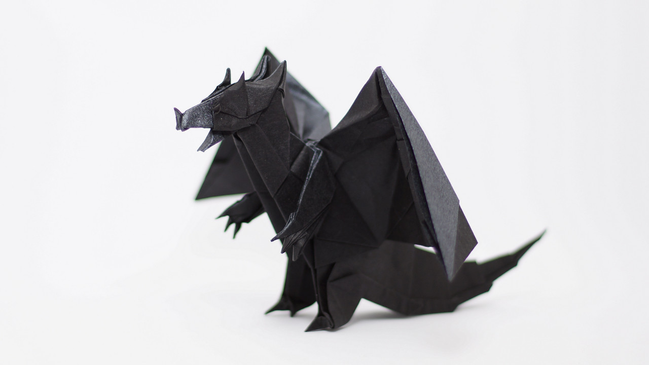 Origami Devil Dragon