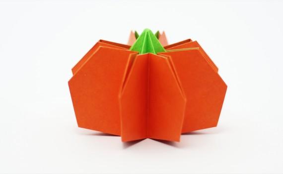 Origami Pumpkin by Jo Nakashima