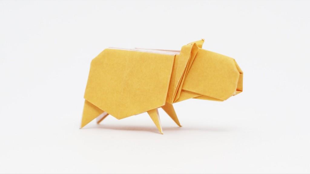Origami Capybara