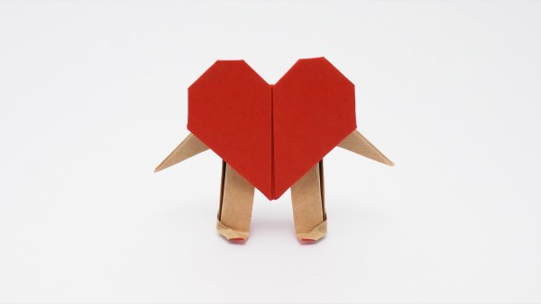 Origami Mr. Heart