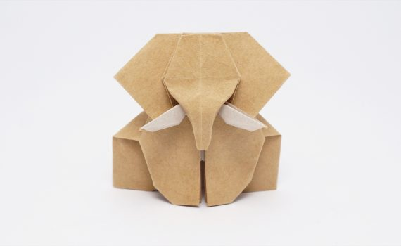 Origami Elephant by Jo Nakashima