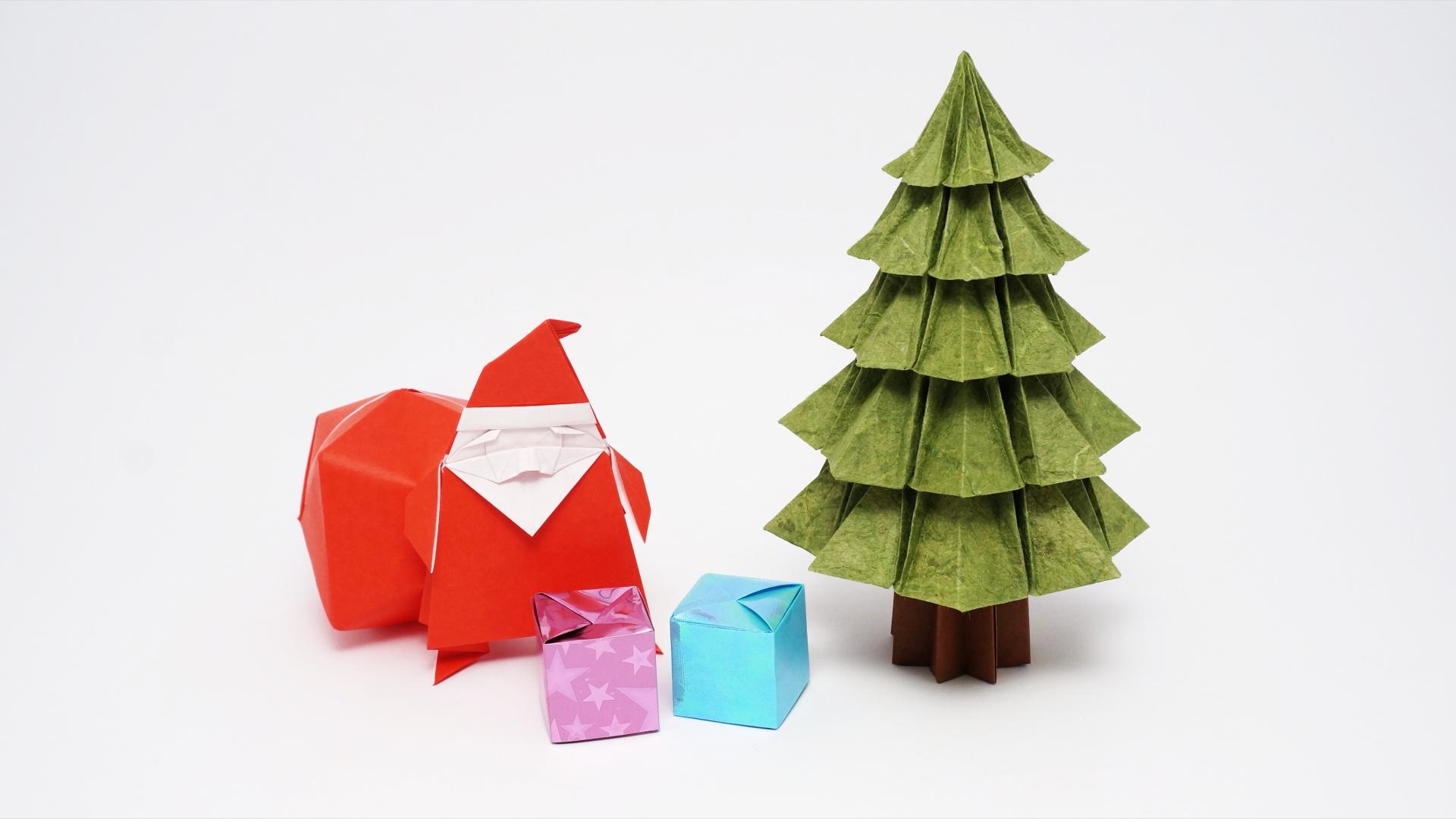 Origami Christmas Tree v2 - Jo Nakashima