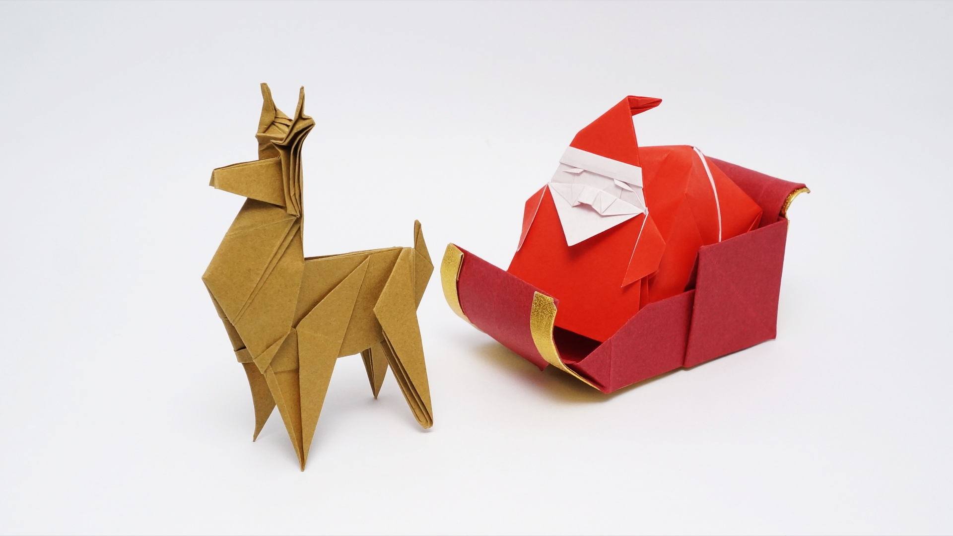 make origami easy instructions for kids: origami Deer 1 3D | 1080x1920