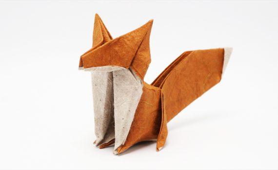 Origami Fox by Jo Nakashima