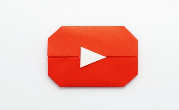 YouTube Play Button by Jo Nakashima