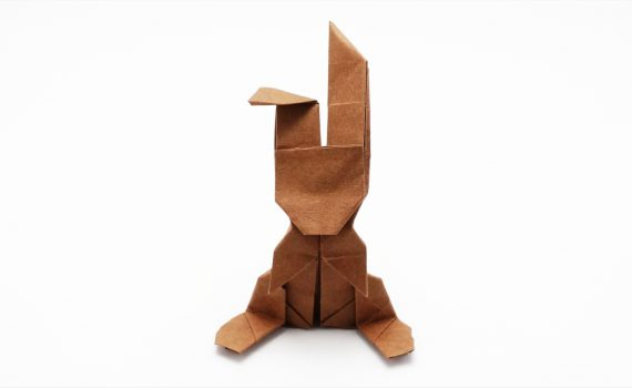 Origami Money Bunny v2