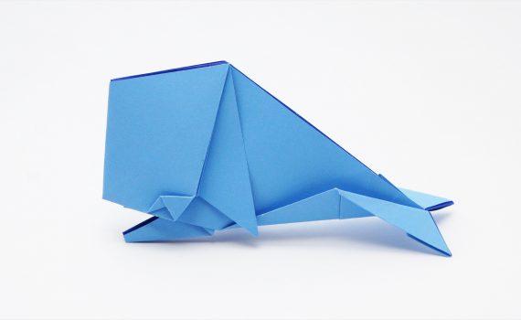 Origami Whale by Jo Nakashima
