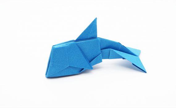 Origami Dolphin by Jo Nakashima