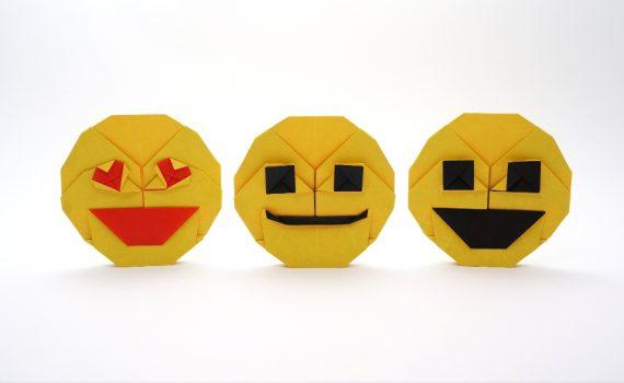 Origami Emoji by Jo Nakashima