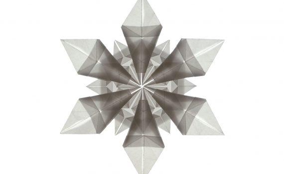 Origami Snowflake by Jo Nakashima