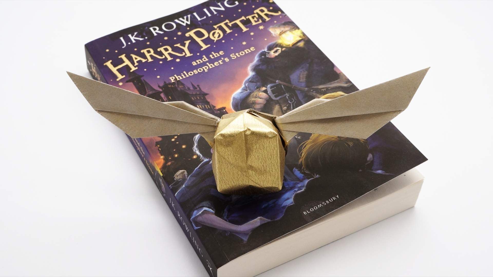 Harry Potters Golden Snitch Origami Jo Nakashima Christmas Diagrams
