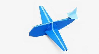 How to Make a Paper Airplane | DIY Network Blog: Made + Remade | DIY | 188x346